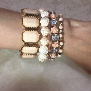 ✨🍍Blush pink bracelet set🍍✨